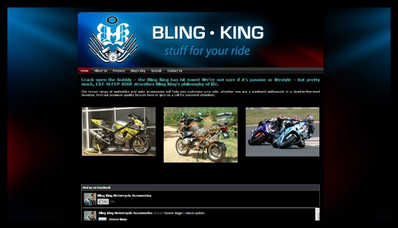 bling king web